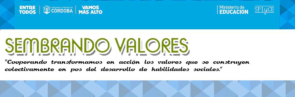 SEMBRANDO VALORES