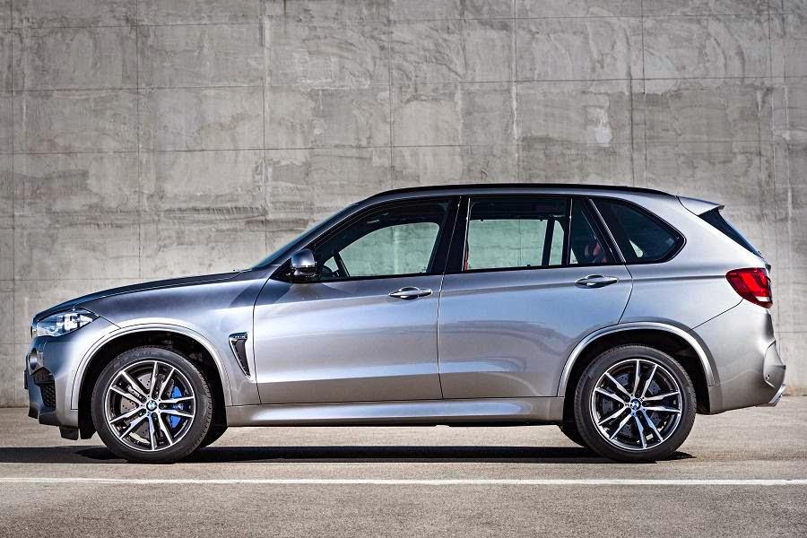 BMW X5 M (2015) Side