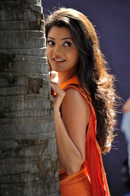 kajal agarwal new saree spicy hot photoshoot