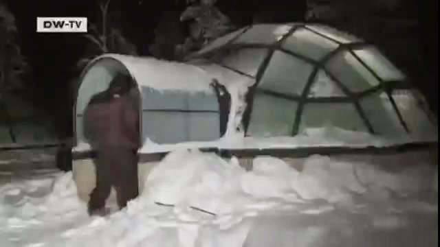 Un hôtel igloo dans la neige en Finlande qui vend du rêve !
