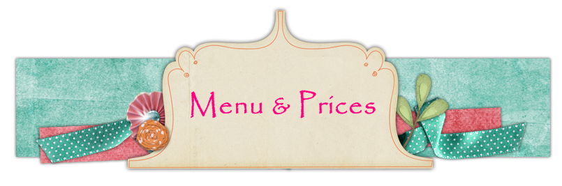 MENU AND PRICES