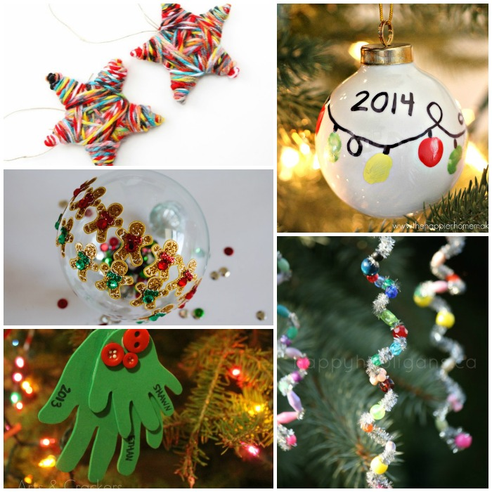 alphabet of christmas ornament crafts for preschool kids - Kids Christmas Ornaments