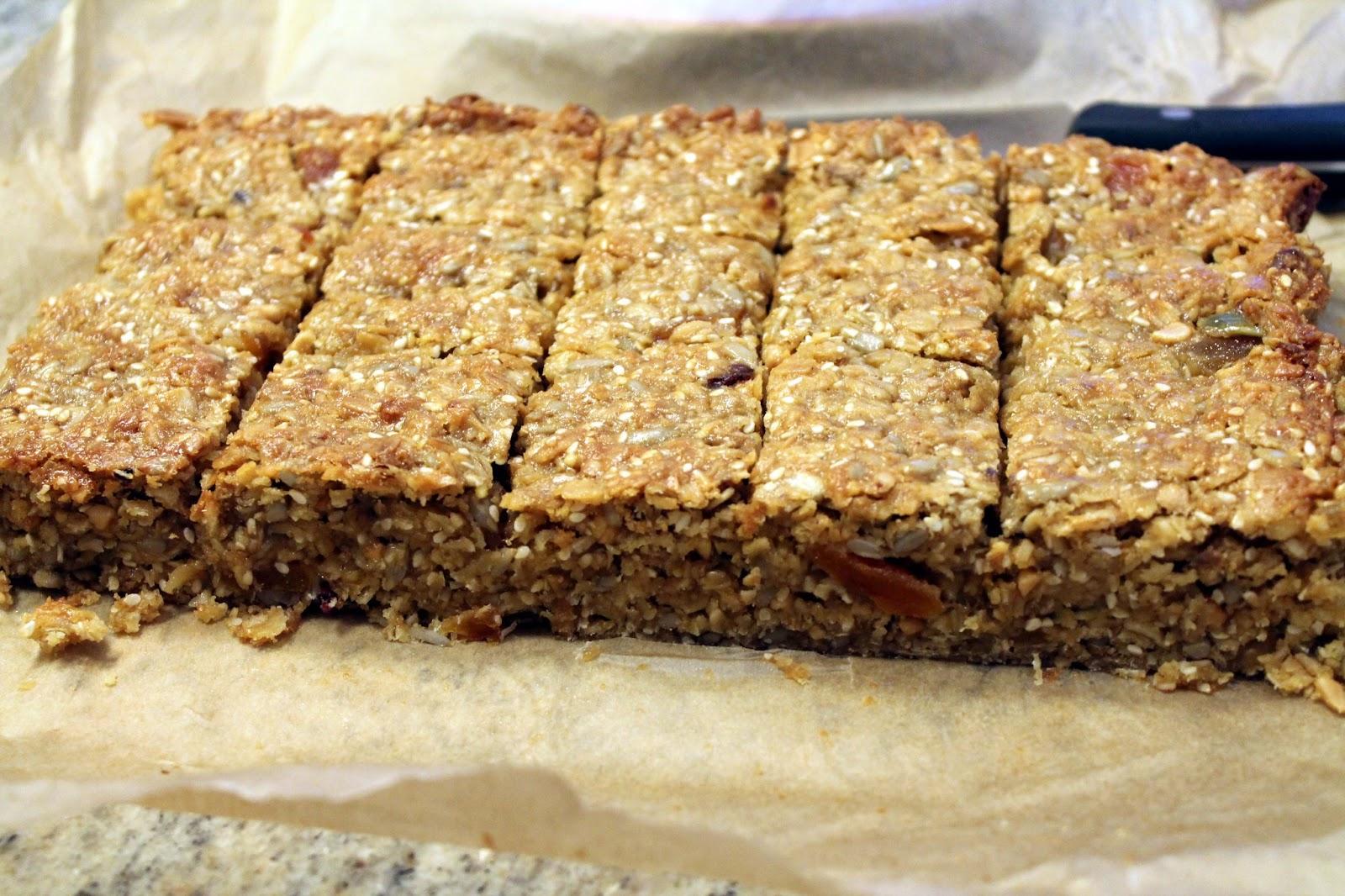 serena 39 s medium rare rachel 39 s apricot oats flapjack squares