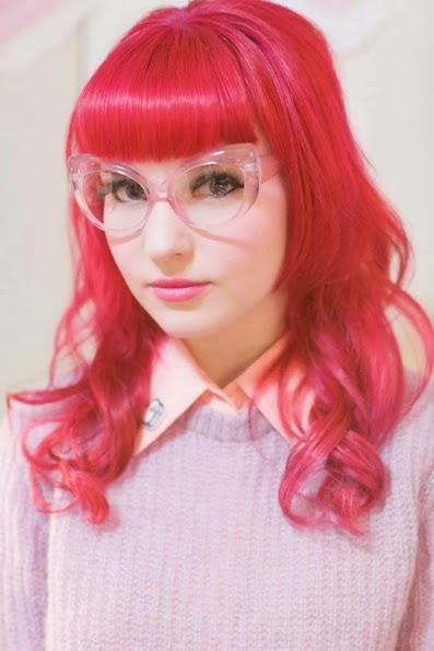 Tinte Color Rojo Fantasía