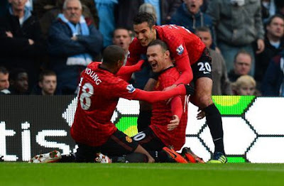 Video Manchester City vs Manchester United 2-3, 9 Desember 2012