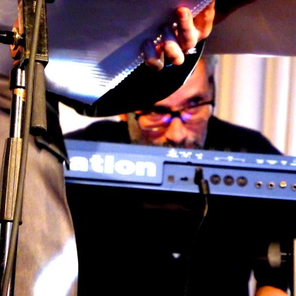 Christopher Chaplin dirige Aelia Lealia @ More Ohr Less Festival 2014 / photo S. Mazars