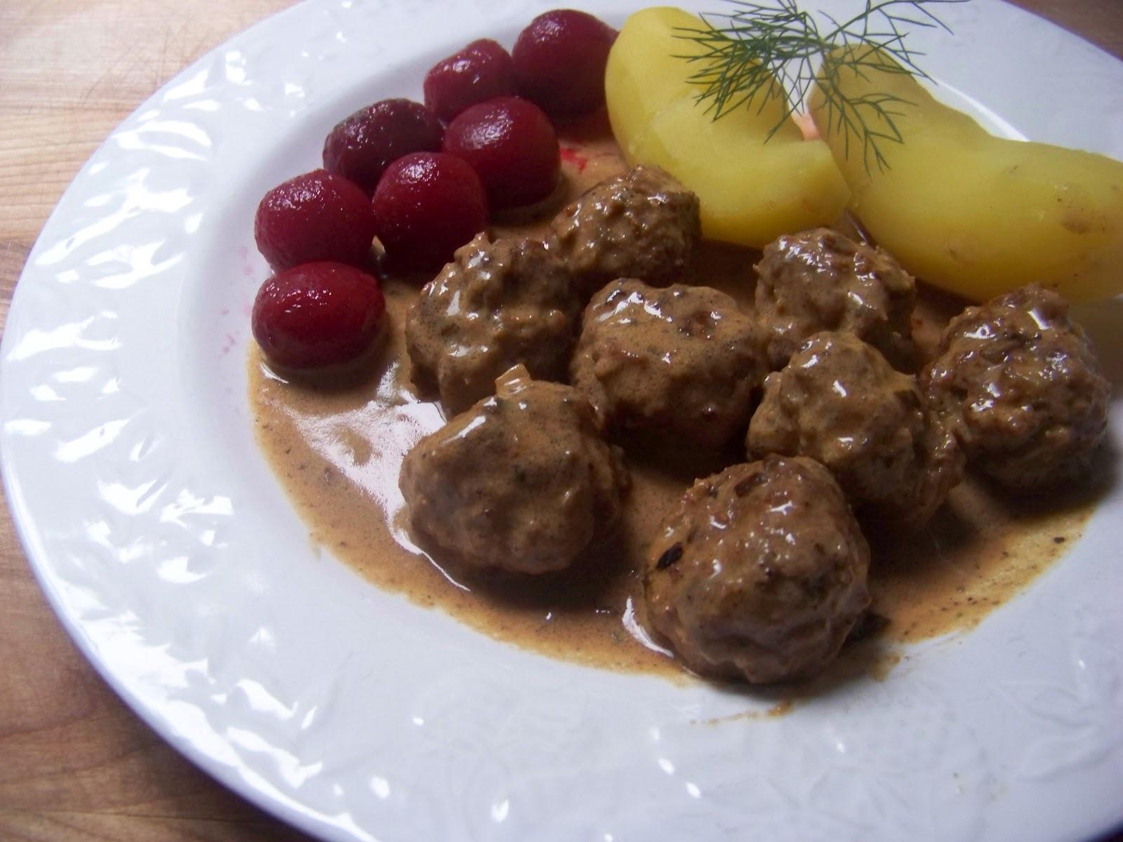 Tora's real food: Swedish meatballs: A classic dish for ...