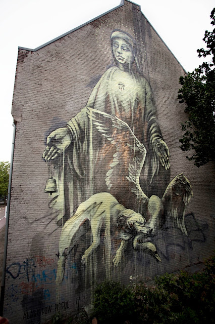 """Alas! how pitiful."" street art  Mural By Faith47 In Heerlen, Netherlands. 3"