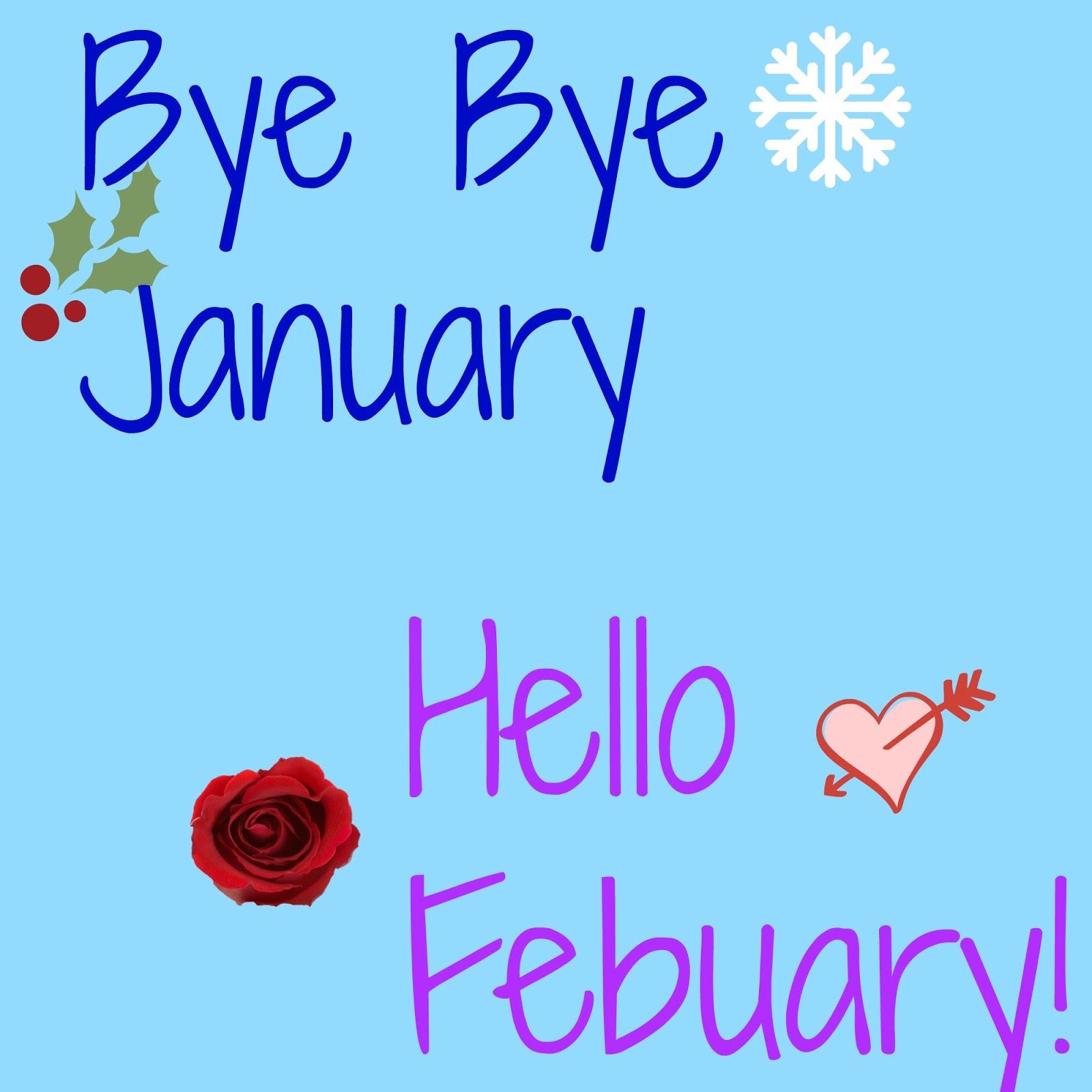 Resultado de imagen de bye bye january hello february