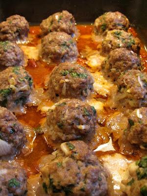 Smoked Mozzarella Stuffed Meatballs