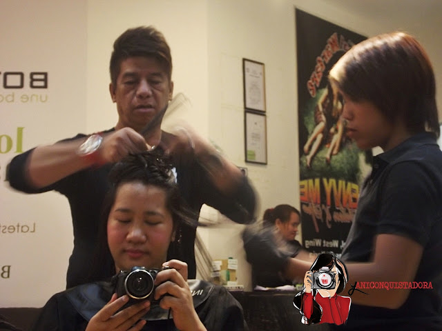 Hair Color and Digital Perm Experience at Envy Me Salon & Spa Robinsons Galleria