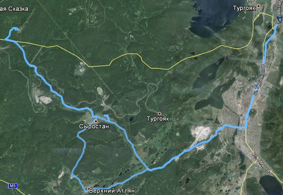 Сыростан, Александровская сопка, Атлян