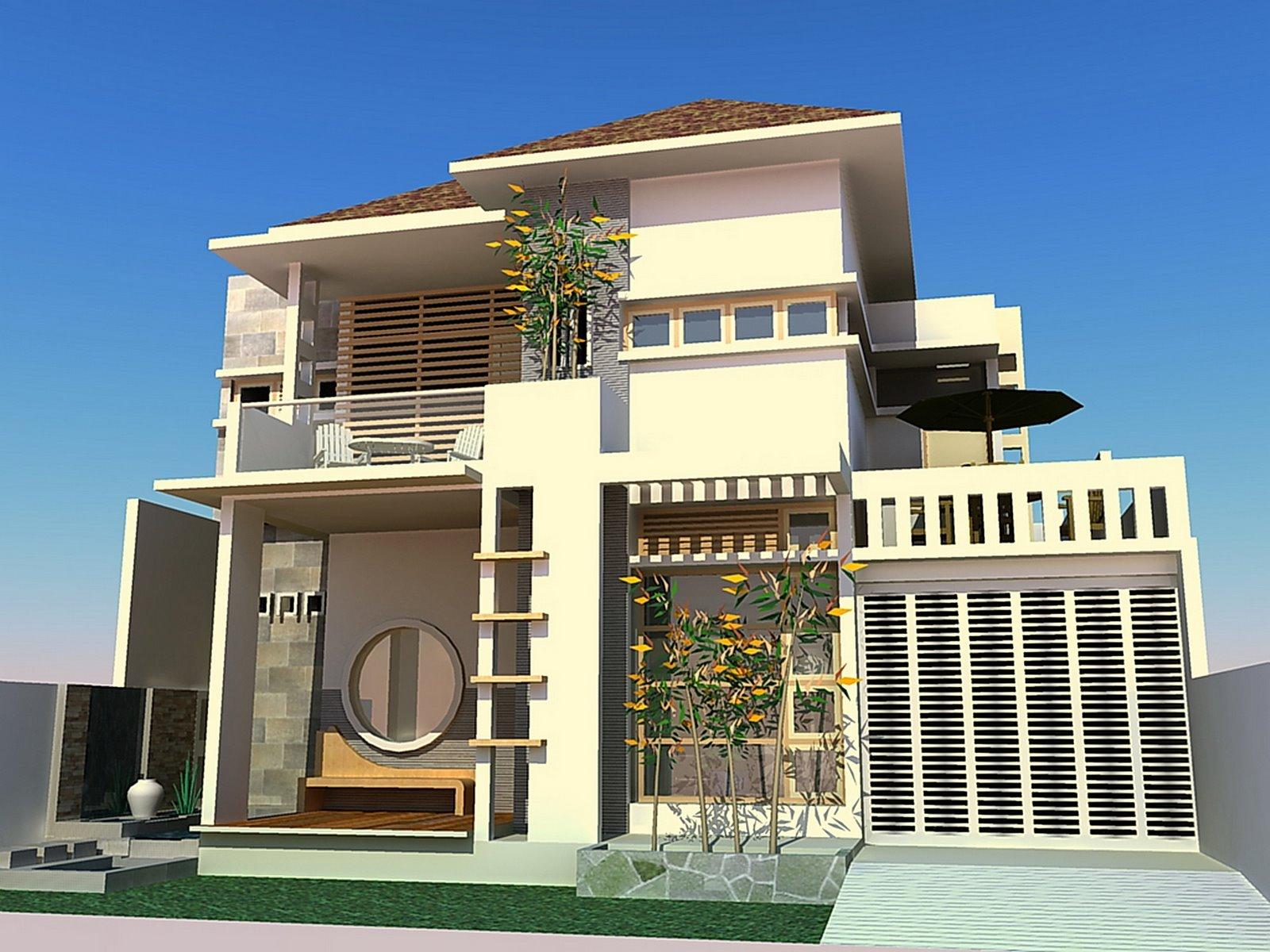 Desain Rumah 1 Lantai 4 Kamar Tidur