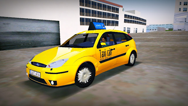 Ford Focus Taxi - GTA Vice City