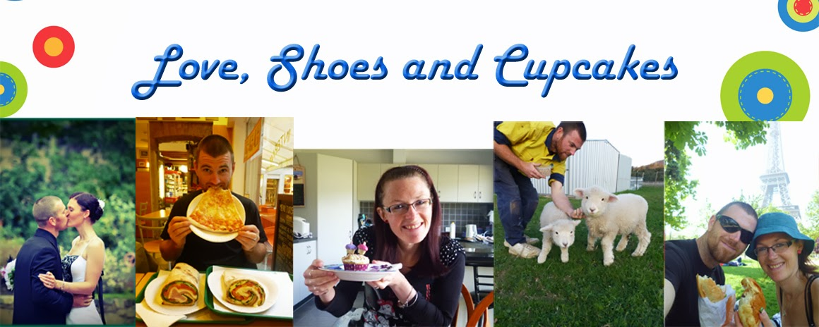<center>Love, Shoes and Cupcakes</center>
