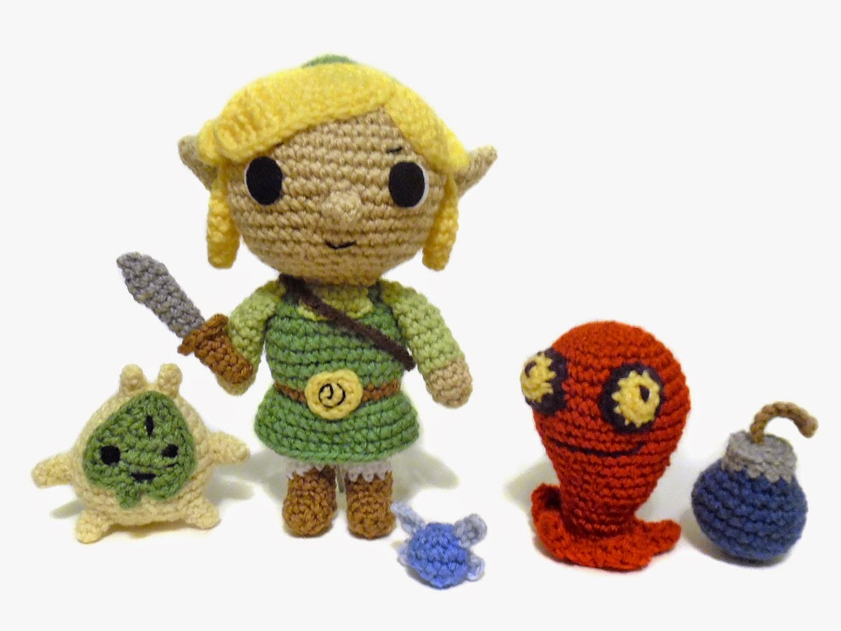 Amigurumi Zelda Pattern : I crochet things pattern link and accessories from legend of zelda