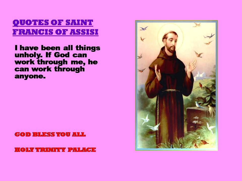 a short biography of saint francis of assisi Saint francis of assisi a short biography on the life of saint francis of assisi, god's troubadour.