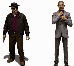BREAKING BAD HEISENBERG / BREAKING BAD GUS FRING