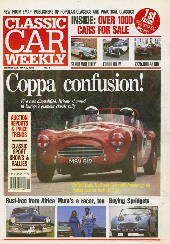 Happy Birthday Classic Car Weekly