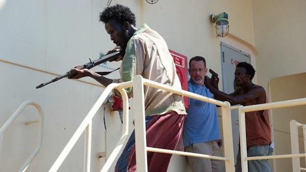 Somali Pirates in Captain Phillips