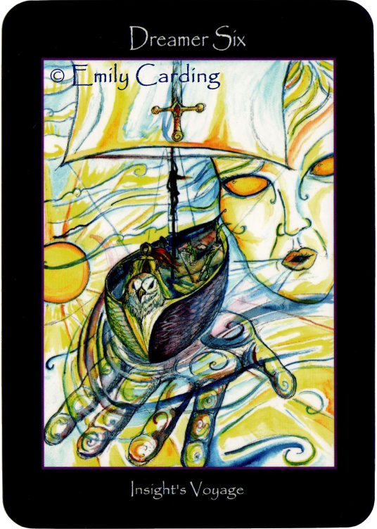 Tarot of the Sidhe, Dreamer Six, Insight's Voyage, Emily Carding