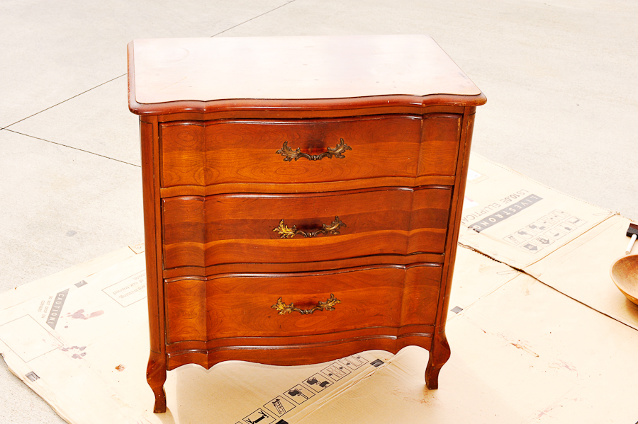 Need A Latte Mom: Refinished Night Stand a Craigslist Find