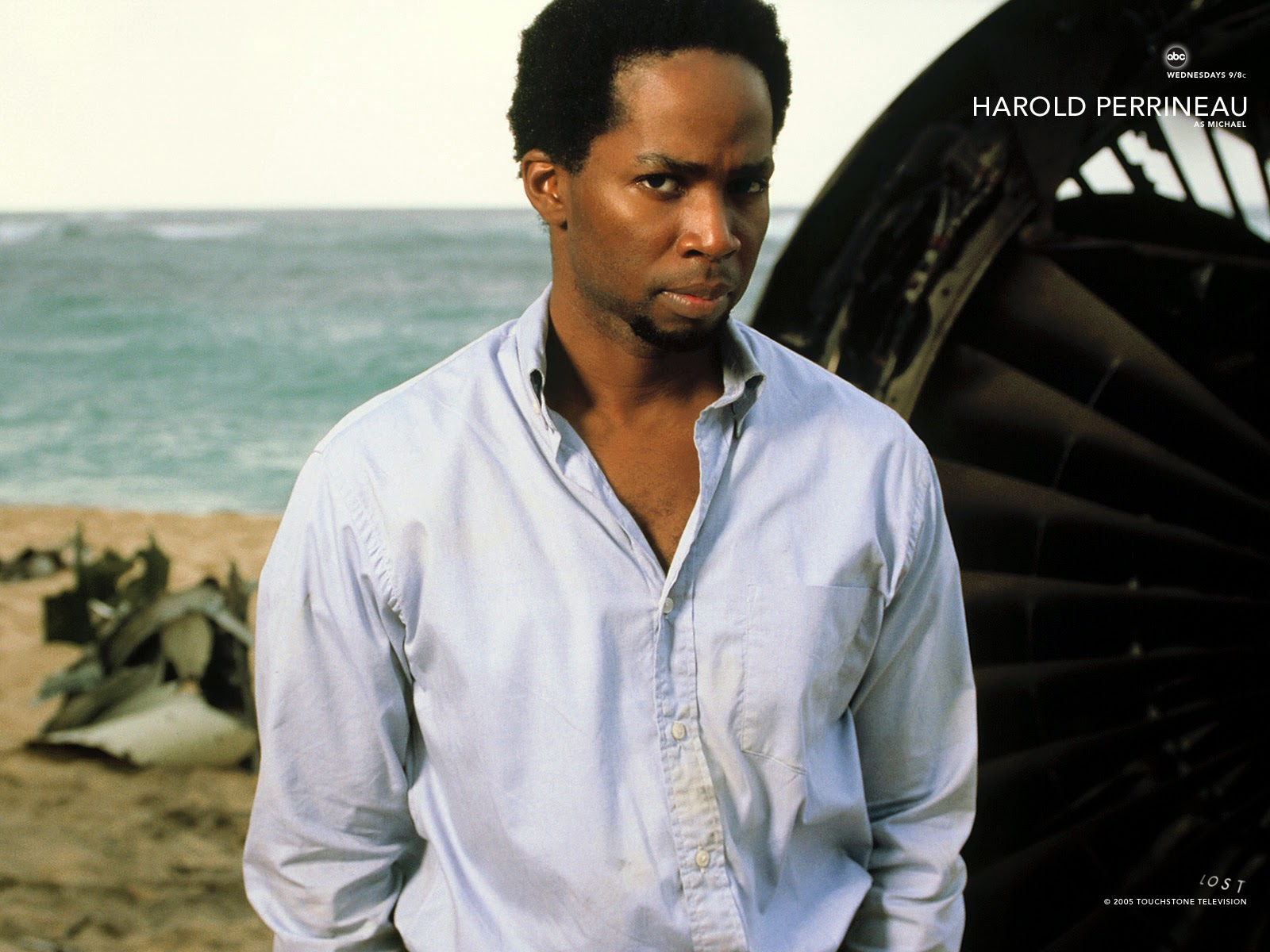 lost Television serial Harold perrineau Wallpaper