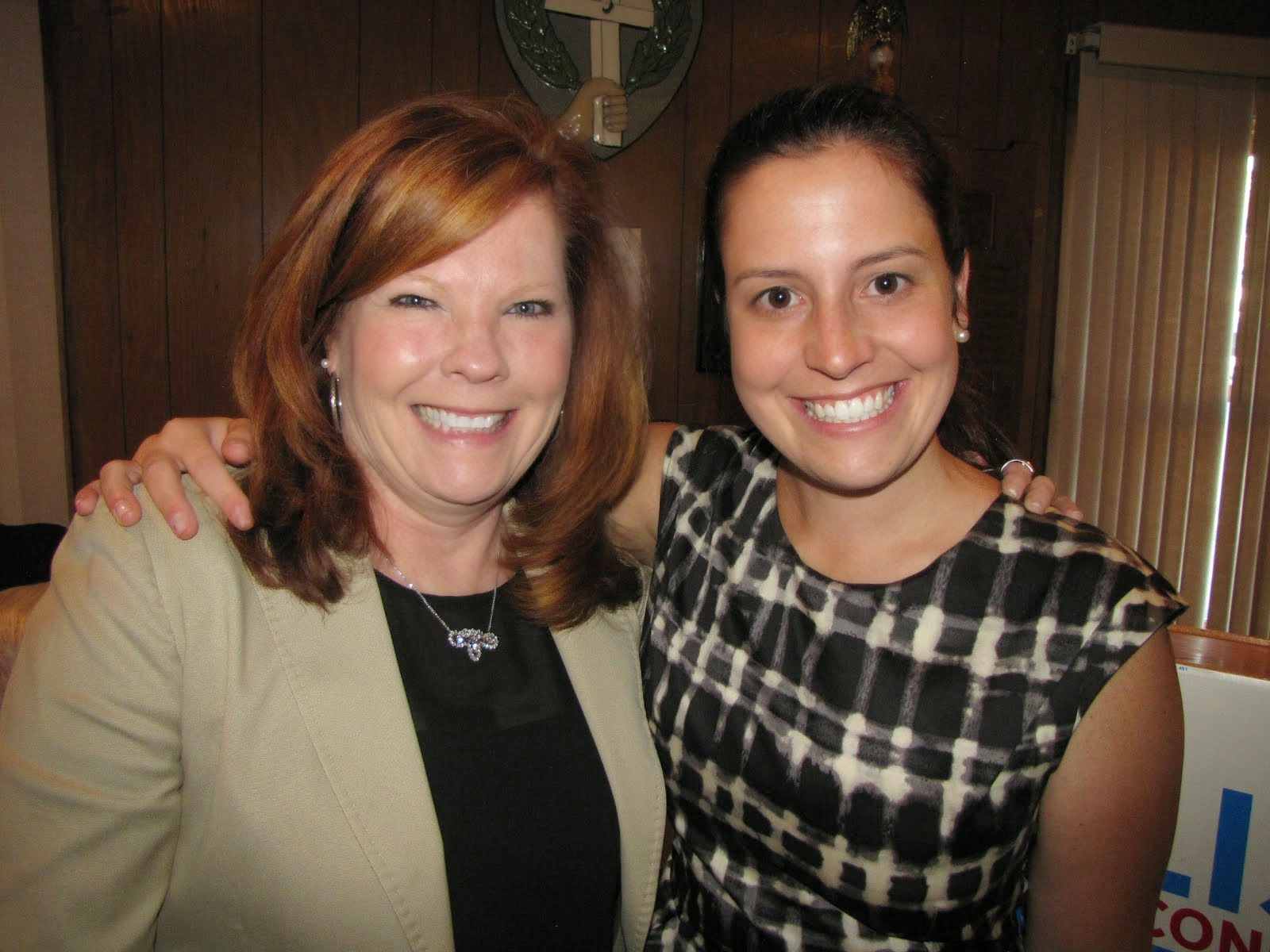 Everybody Loves Redheads !  Assembly Candidate Karen Bisso with Elise Stefanik