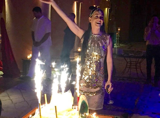 "Katy Perry celebrated her 30 years in Morocco ... Discover below its wonderful ""birthday""!"