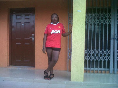 Manchester United girls from Nigeria