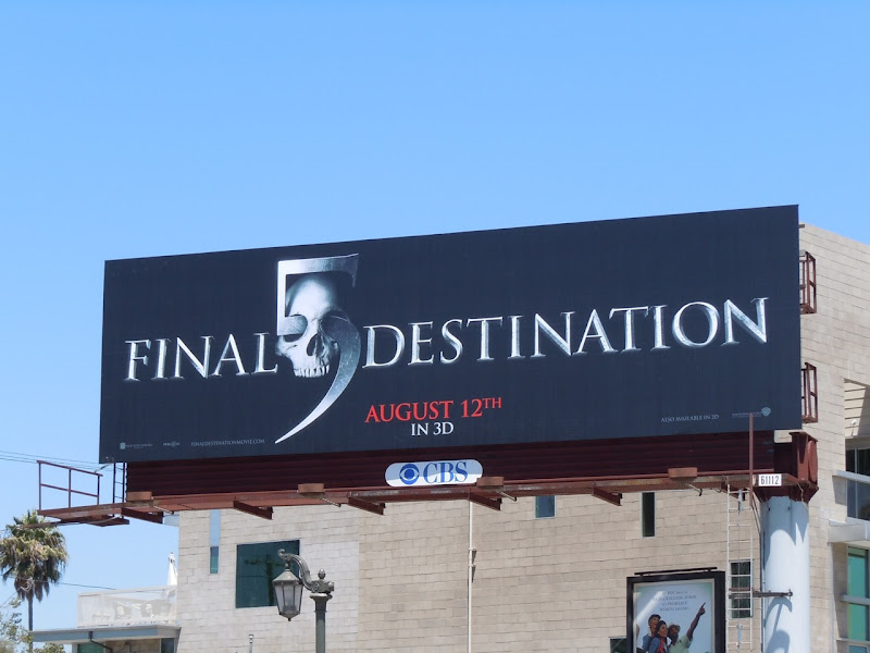 Final Destination 5 billboard