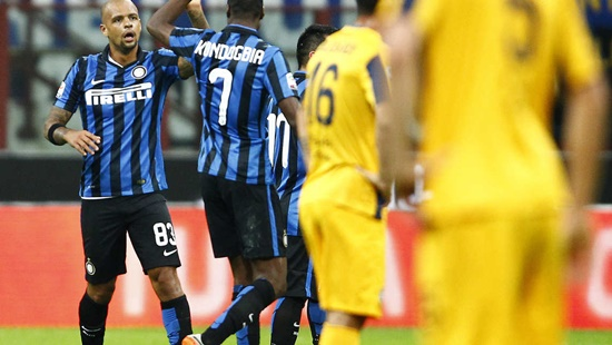 Internazionale 1 x 0 Hellas Verona - Campeonato Italiano(Calcio) 2015/16
