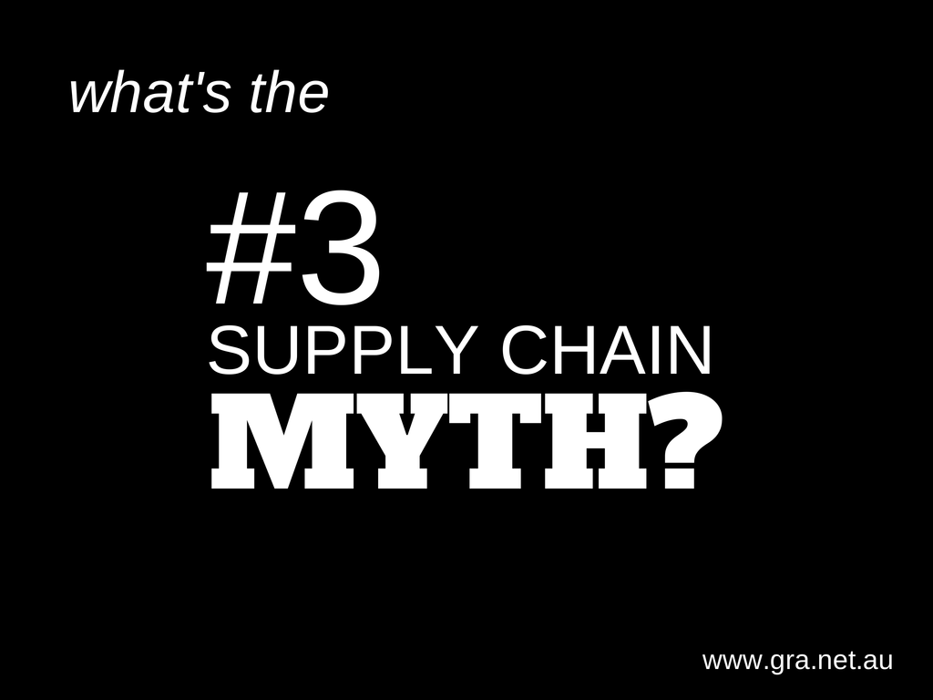 Forecasting: The #3 Supply Chain Myth