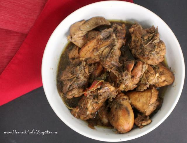 Trinidad Stew Chicken