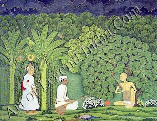 Saint Musician Swami Haridas, Akbar and Tansen
