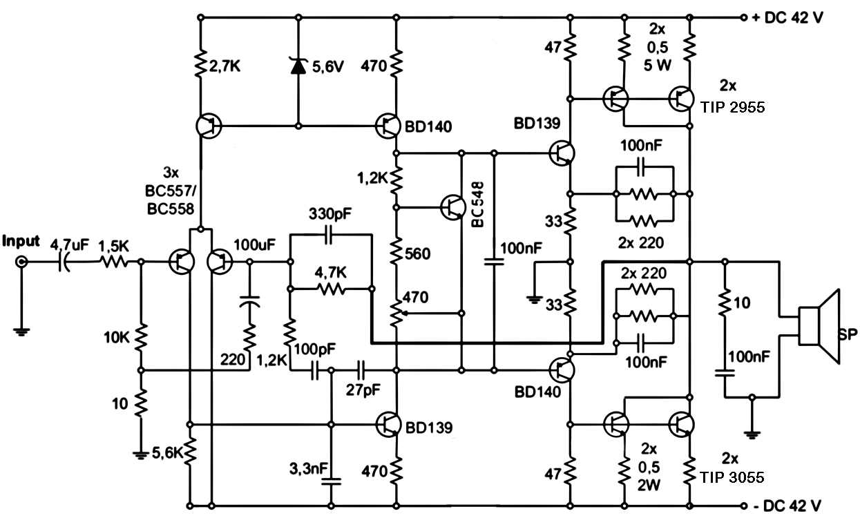 4000 Watt Amplifier Diagram Nerv Class D Power Electronic Circuits And