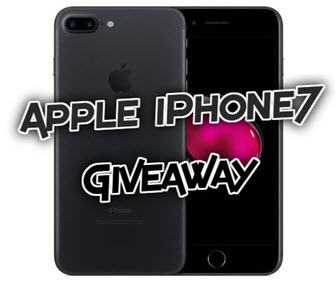 Apple iPhone 7 Giveaway