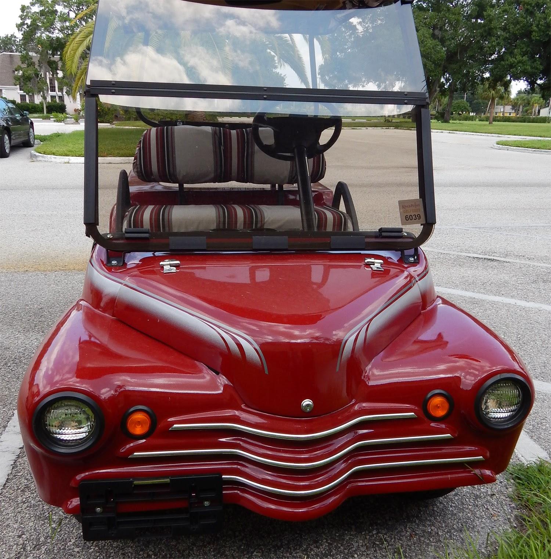 Red 1940s Chevy Truck Golf Cart, Sun City Center, Florida on antique looking golf cart, toyota corolla golf cart, chevy silverado golf cart, chevy corvette golf cart, geo golf cart, custom 57 chevy golf cart, solorider golf cart, chevy duramax golf cart, chevy chevelle golf cart, silverado truck golf cart, malibu golf cart, jeep golf cart, old truck golf cart, camaro golf cart, edsel golf cart, porsche golf cart, lamborghini golf cart, thunderbird golf cart, dump truck golf cart, chevy suburban golf cart,