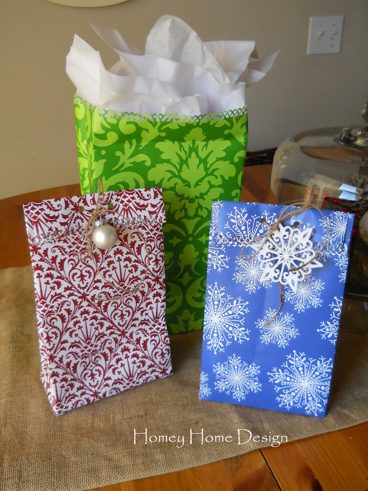 I Think I'm Finally Done With The Christmas Shopping But Now I Have All The  Wrapping! I Think I'll Be Giving Out A Lot Of Bags This Year!