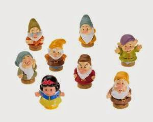 Amazon Little People Snow White and the Seven Dwarfs