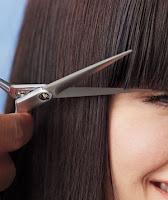 Cut Bangs