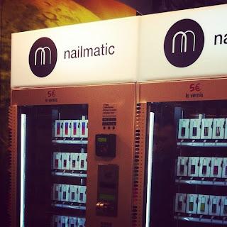 Nailmatic: le premier distributeur de vernis !