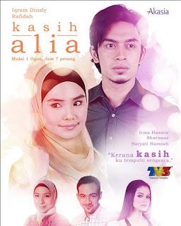 Slot Akasia Kasih Alia di TV3
