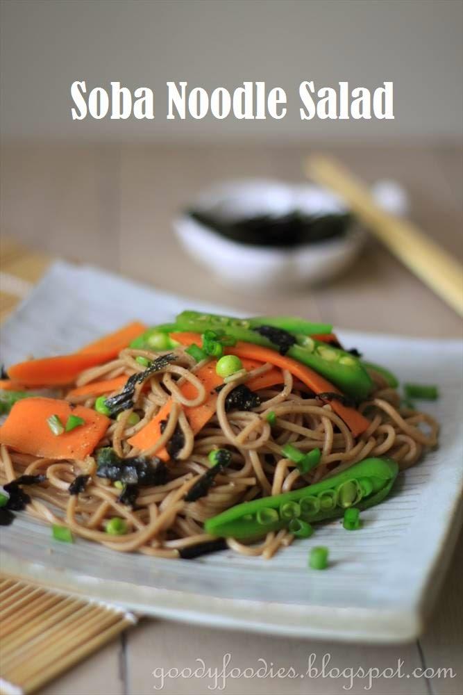 Soba Noodle Salad Recipe — Dishmaps