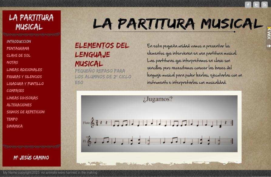 Repaso Lenguaje Musical