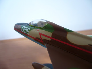 fighter model of italeri Super Mystere