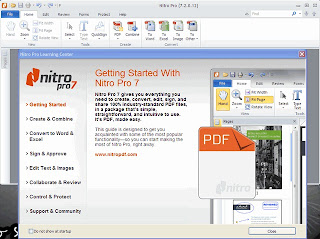 Nitro PDF Profesional Screen Shoot