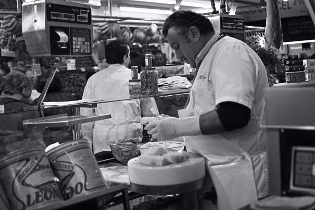 Preparing Cod Fish, Barcelona
