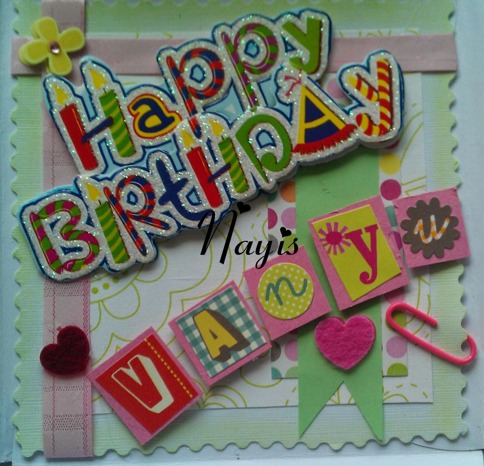 Kositas Nayis: Blog Hop Feliz Cumpleaños Vanyu!!!