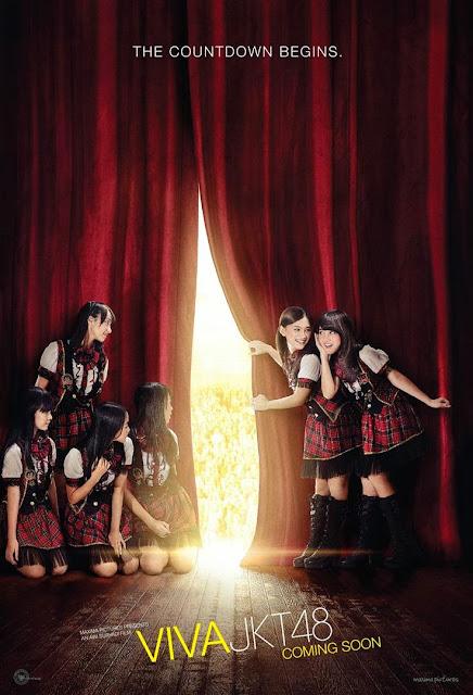 """""""JKT48 Merilis Teaser Poster Film Viva Jakarta"""""""